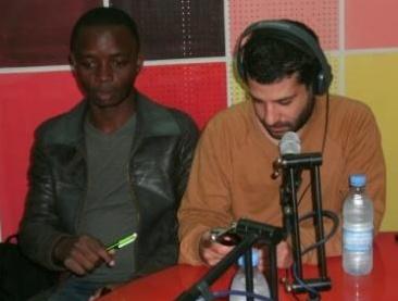 Ziad Maalouf (droite) et Florian NgimbisPh. Kpénahi Traoré