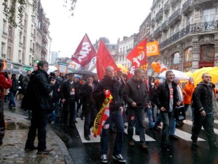 Les salariés de la Redoute soutenus par les syndicatsPh. Kpénahi